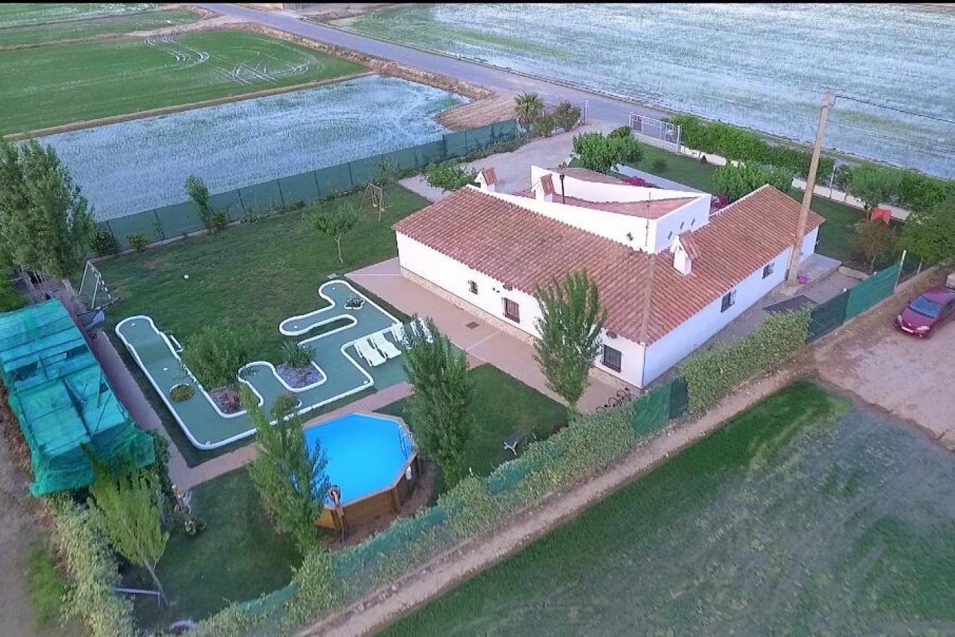 Deltaprego casa en el delta de l'Ebre